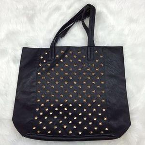 ☂️Black Gold Studded Tote Bag